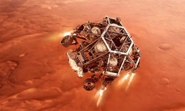En directo la llegada de la misión 'Mars Rover Perseverance' por tv