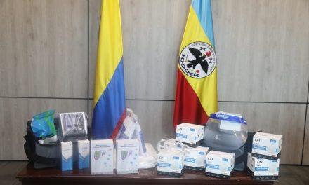 120 kits de terapia respiratoria son donados por Emiratos Árabes a Cundinamarca