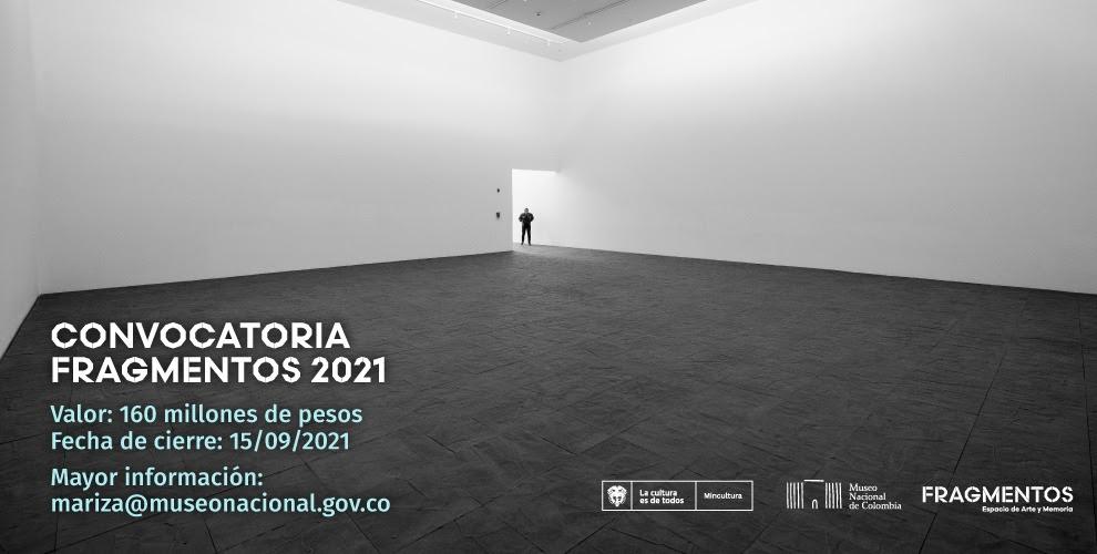 Museo Nacional abrió convocatoria para la intervención artística de Fragmentos