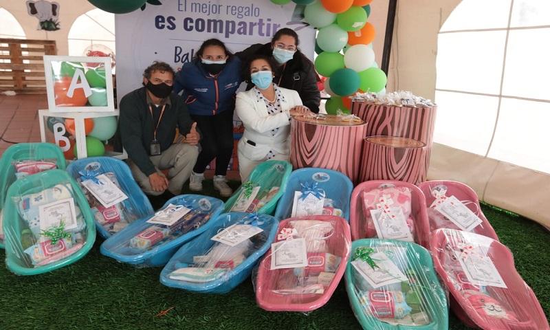 Cerca de 112 mil pañales y 6500 donaciones el gran resultado del Baby Shower por los recién nacidos de Cundinamarca