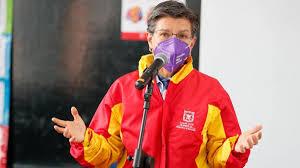 Toque de queda en Bogotá anuncia alcaldesa Lòpez