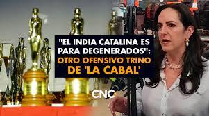 Por el trofeo a Matarife, María Fernanda Cabal se fue en contra de los Premios India Catalina