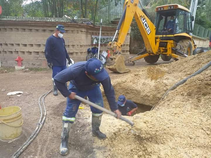 Emserchia trabaja para restablecer el servicio de acueducto